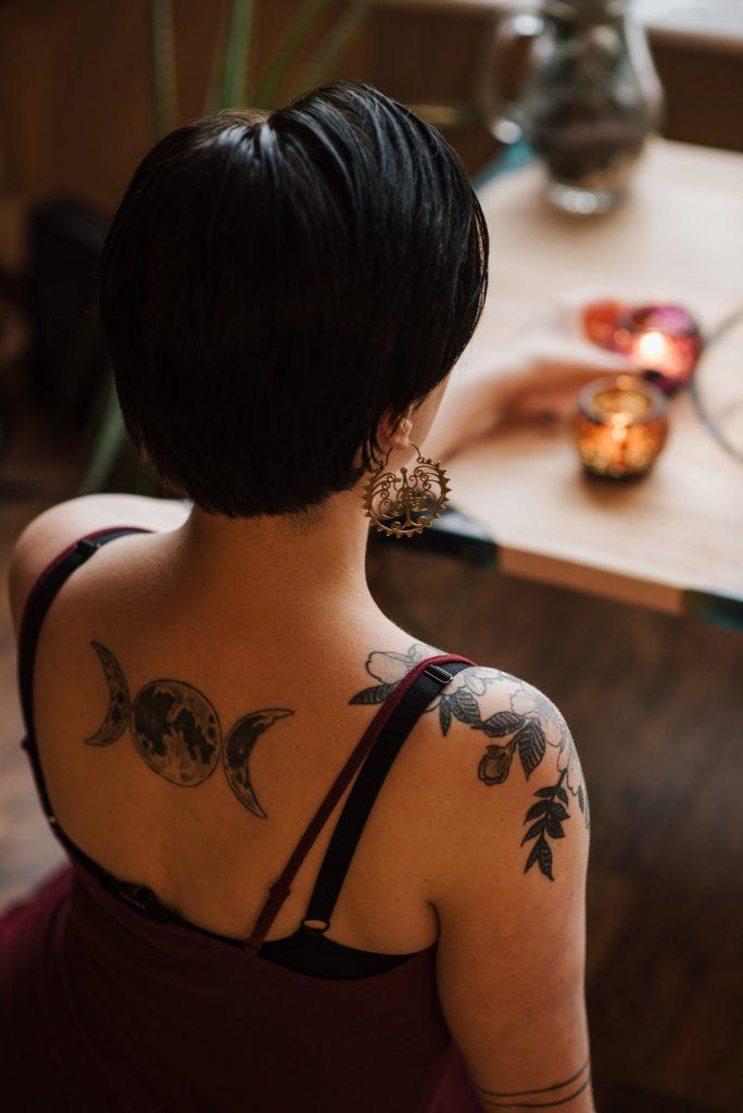 usuwanie tatuażu Warszawa - schemat zabiegu